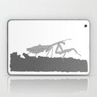 Praying Mantis B/W Laptop & iPad Skin
