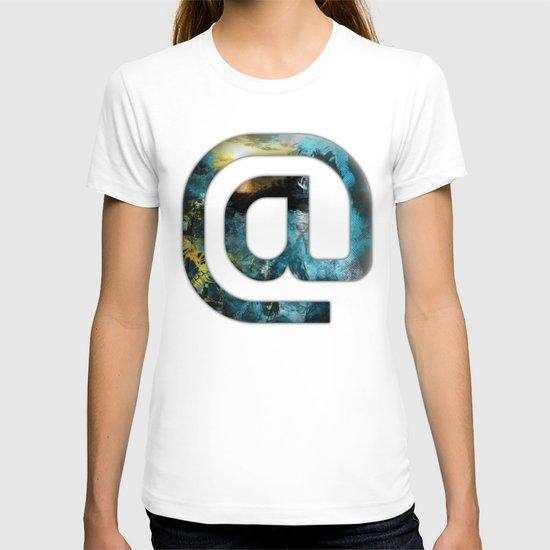 At Sign {@} Series - Silom Typeface T-shirt