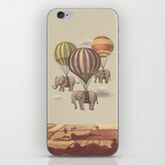 Flight Of The Elephants  iPhone & iPod Skin