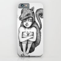 iPhone & iPod Case featuring Chaperon noir by ValD