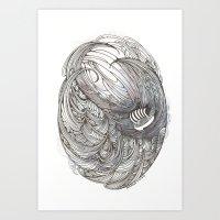 A Descent Into The Maels… Art Print