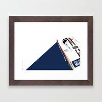 Porsche 962C, 1985 Framed Art Print