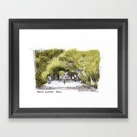 Reserva Ecologica En Bue… Framed Art Print