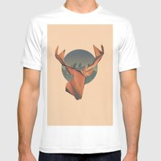 YONDER Mens Fitted Tee White SMALL
