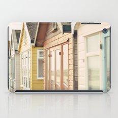 English Beach Huts iPad Case
