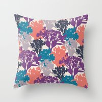 Acer Bouquets  Throw Pillow