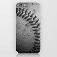 iPhone & iPod Case featuring Baseball by Christy Leigh
