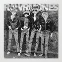 RAWRMONES Canvas Print