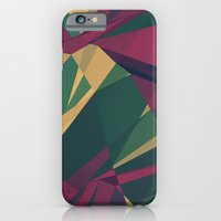iPhone & iPod Case featuring Crystalline 1 by Liam Brazier