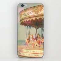 Circling Horses iPhone & iPod Skin