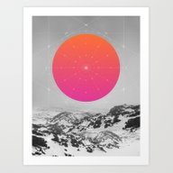 Middle Of Nowhere I Art Print
