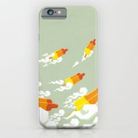 Flight of the rockets iPhone 6 Slim Case