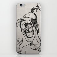 Imagination (sketch) iPhone & iPod Skin