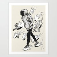 Dream Walking Art Print