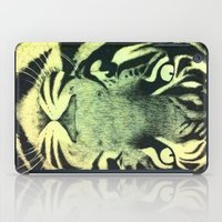 Be a Tiger (Yellow) iPad Case