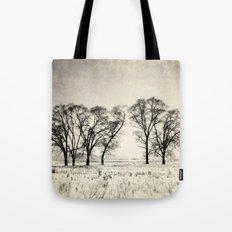 Dark Winter Days Tote Bag