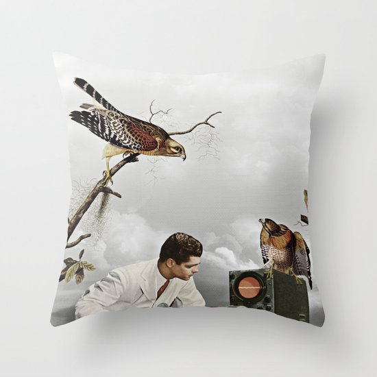 third beat III Throw Pillow