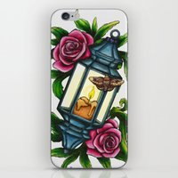 A Moth to the Flame iPhone & iPod Skin
