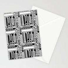 Arrows Pattern Stationery Cards