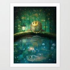 Crown Prince Art Print