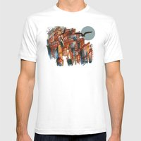 The City pt. 2 Mens Fitted Tee White SMALL