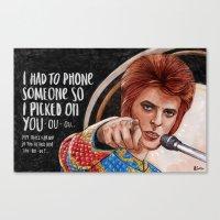 I Had To Phone Someone S… Canvas Print