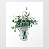 Forest Bouquet Art Print