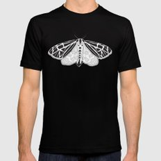 Virgin Tiger Moth Mens Fitted Tee SMALL Black