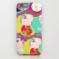 iPhone & iPod Case featuring I Love you by Rita Acapulco
