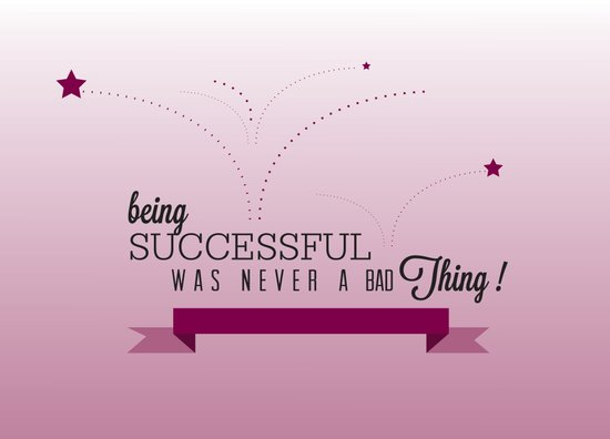 Being Successful Art Print