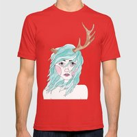 Antler Mens Fitted Tee Red SMALL