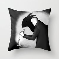 When Boredom Strikes Throw Pillow