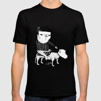 Jack the Dog Rider Mens Fitted Tee Black SMALL