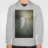 The White Egret Hoody