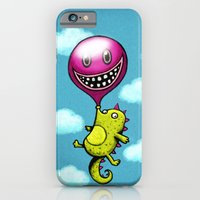 iPhone & iPod Case featuring BubbleCroco by MaComiX