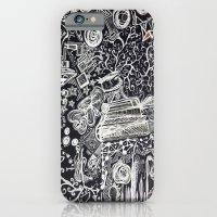 White/Black #2  iPhone 6 Slim Case