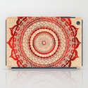 omulyána red gallery mandala iPad Case