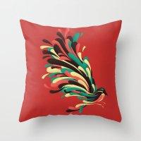 Avian Throw Pillow
