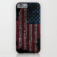 United States Flag Map W… iPhone 6 Slim Case