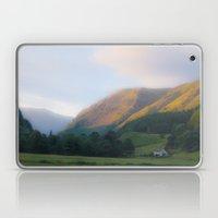 Golden Mountain Sunset Laptop & iPad Skin