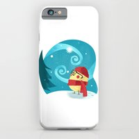 iPhone & iPod Case featuring Winter Bird by David Finley