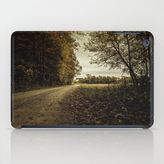 in the distance iPad Case