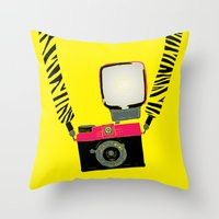 Diana Mini Throw Pillow