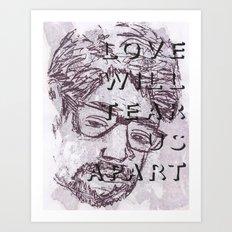 nos evellat seorsum. (v1) Art Print