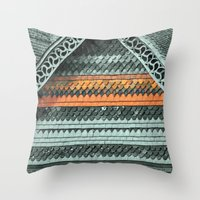 ROOF PATTERNS Throw Pillow