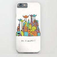 iPhone & iPod Case featuring Monster Tower II by David Stanfield