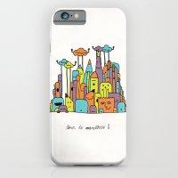 Monster Tower II iPhone 6 Slim Case