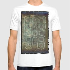 ANDROID SMALL Mens Fitted Tee White