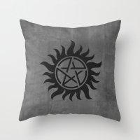 Supernatural Minimalist … Throw Pillow