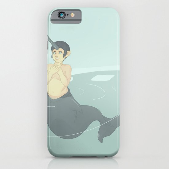 Narwhal Mermaid iPhone & iPod Case